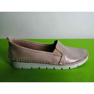 Мод:300 Ниски ортопедични обувки естествена кожа