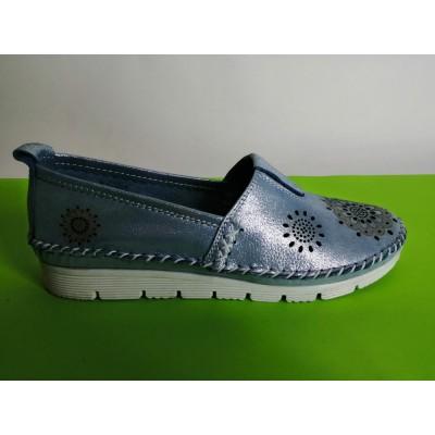 Мод:700-А Ниски ортопедични обувки естествена кожа