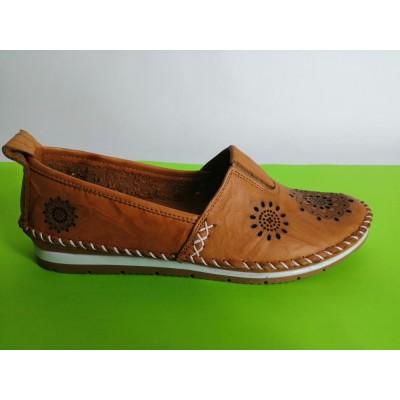 Мод:700 Ниски ортопедични обувки естествена кожа