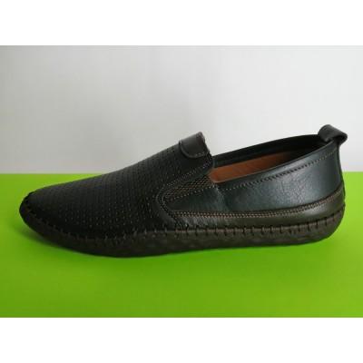 Мод:630 Мъжки летни обувки естествена кожа