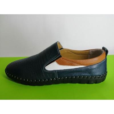 Мод:622 Мъжки летни обувки естествена кожа