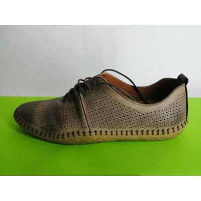Мод:618 Мъжки летни обувки естествена кожа