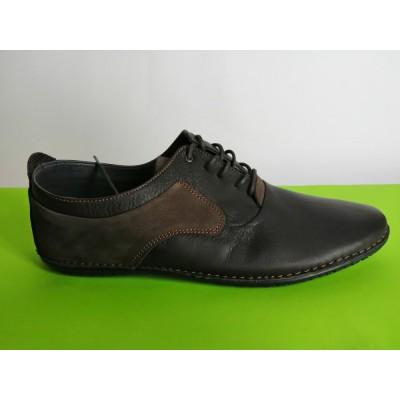 Мод:617 Мъжки летни обувки естествена кожа