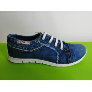 Мод:203  Дънкови обувки-ниски