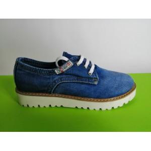 Мод:204  Дънкови обувки-ниски