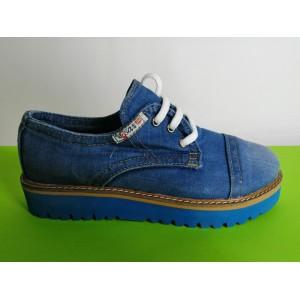 Мод:205  Дънкови обувки-ниски