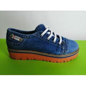Мод:206 Дънкови обувки-ниски