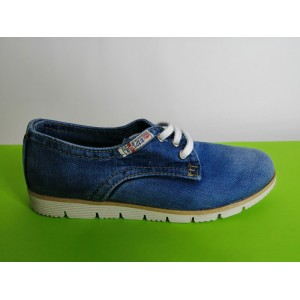 Мод:207 Дънкови обувки-ниски