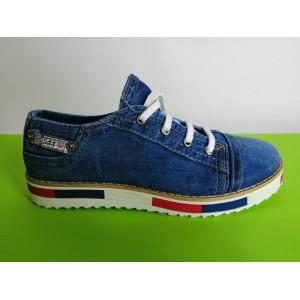 Мод:210 Дънкови обувки-ниски