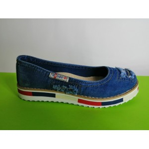 Мод:218 Дънкови обувки-ниски