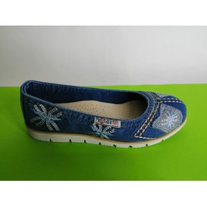Мод:220 Дънкови обувки-ниски
