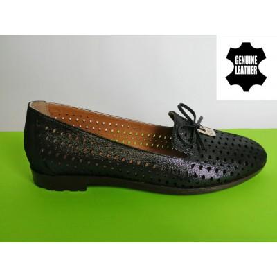 Мод:319 летни обувки естествена кожа
