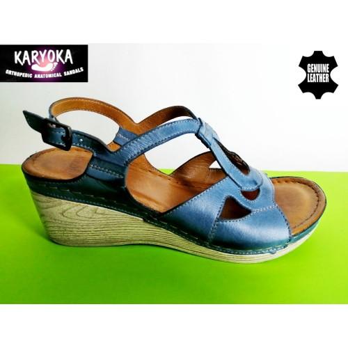 Мод:080-KARYOKA сандали естествена кожа