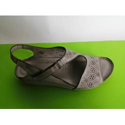 085Д-KARYOKA ниски ортопедични кожени сандали