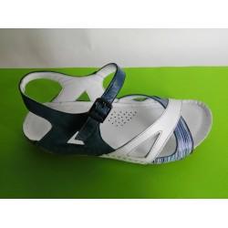 085E-KARYOKA ниски ортопедични кожени сандали