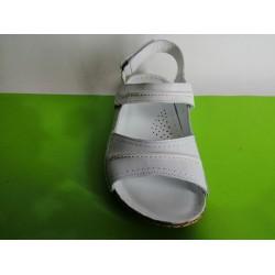 085Г -KARYOKA ниски ортопедични кожени сандали