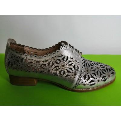Мод:319-A летни обувки естествена кожа