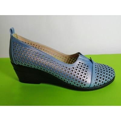 Мод:319-Б летни обувки естествена кожа