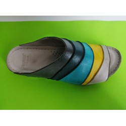 Мод:754-KARYOKA кожени дамски чехли