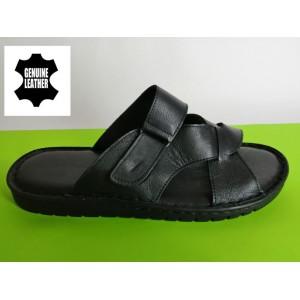 Мод:522 Мъжки анатомични чехли естествена кожа