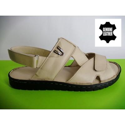 Mод:523 Мъжки анатомични сандали от естествена кожа