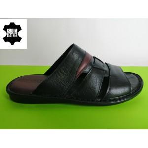 Мод:511 Мъжки анатомични чехли естествена кожа