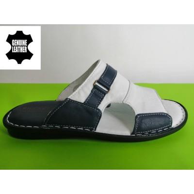 Мод:520 Мъжки анатомични чехли естествена кожа