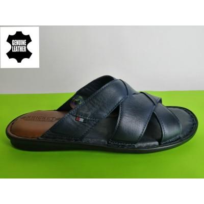 Мод:519 Мъжки анатомични чехли естествена кожа