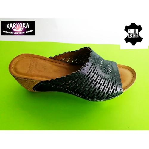 Мод:760-KARYOKA чехли естествена кожа