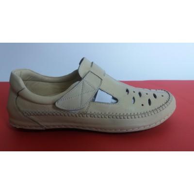 Мод:298 Ортопедични обувки естествена кожа