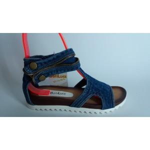 Мод:214-A Дънкови сандали