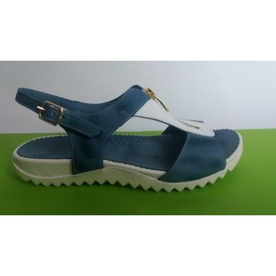 Мод:348 A -ортопедични сандали-естествена кожа