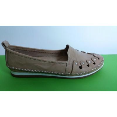 Мод:701 Ниски ортопедични обувки естествена кожа