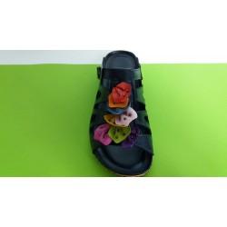 Мод:738-KARYOKA кожени дамски чехли