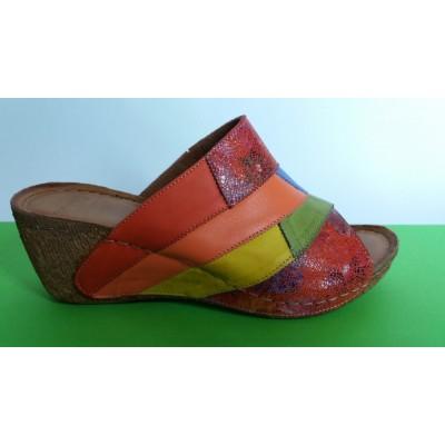 Мод:745-KARYOKA чехли естествена кожа