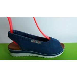 Мод:202 Дънкови сандали