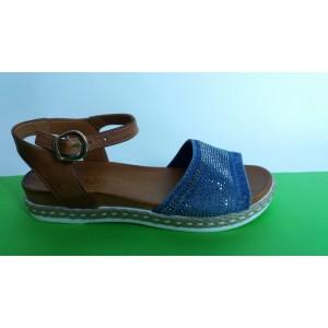 Мод:203-A Дънкови сандали