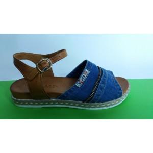 Мод:204-А Дънкови сандали