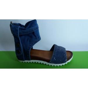 Мод:206-A Дънкови сандали
