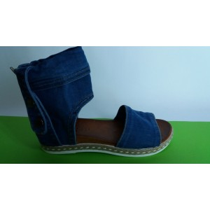 Мод:207-A Дънкови сандали