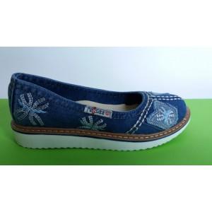Мод:215 Дънкови обувки-ниски
