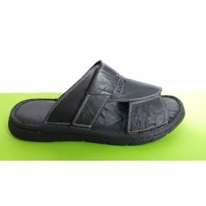 Мод:503 Мъжки анатомични чехли естествена кожа